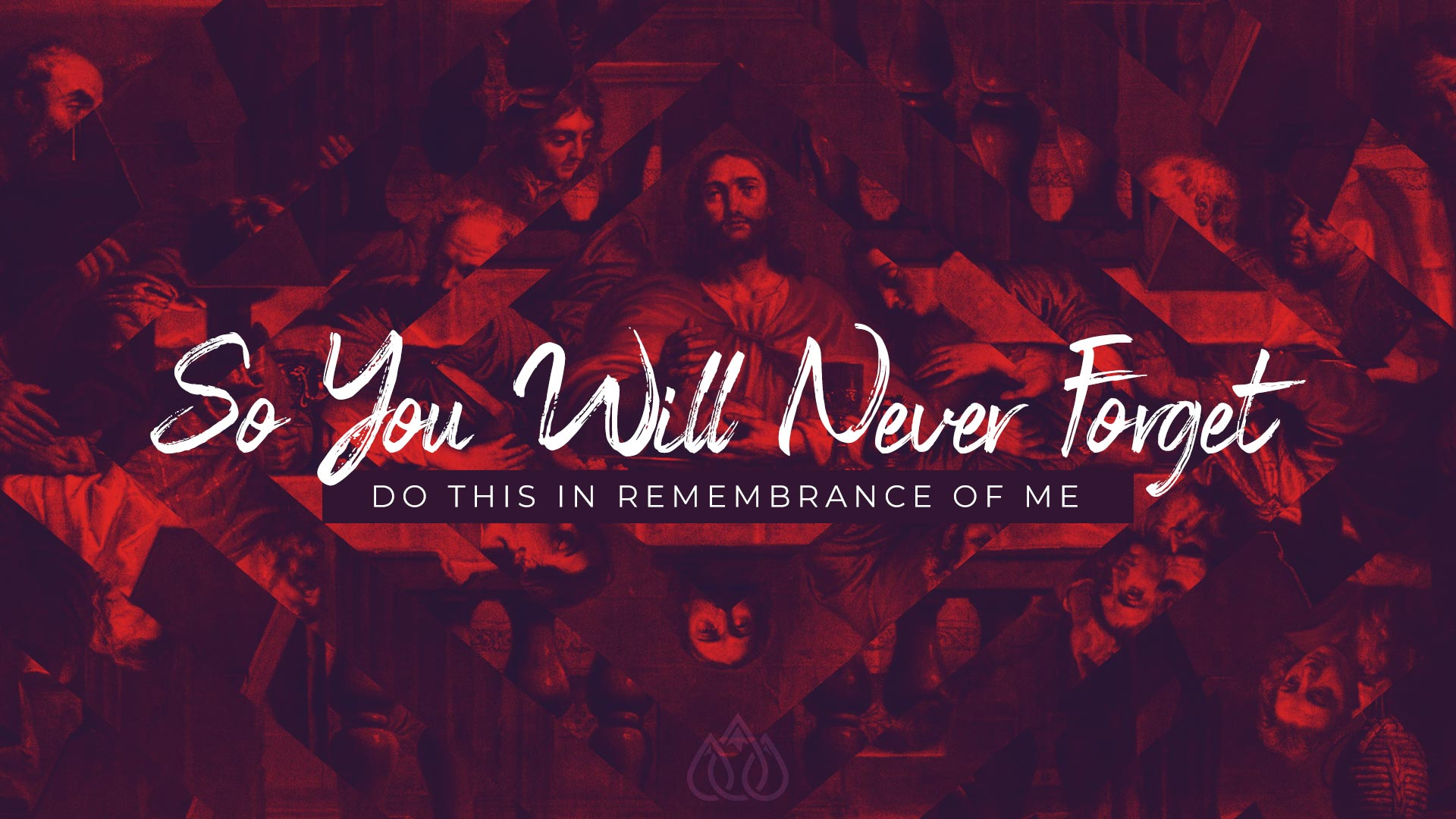 So You Will Never Forget